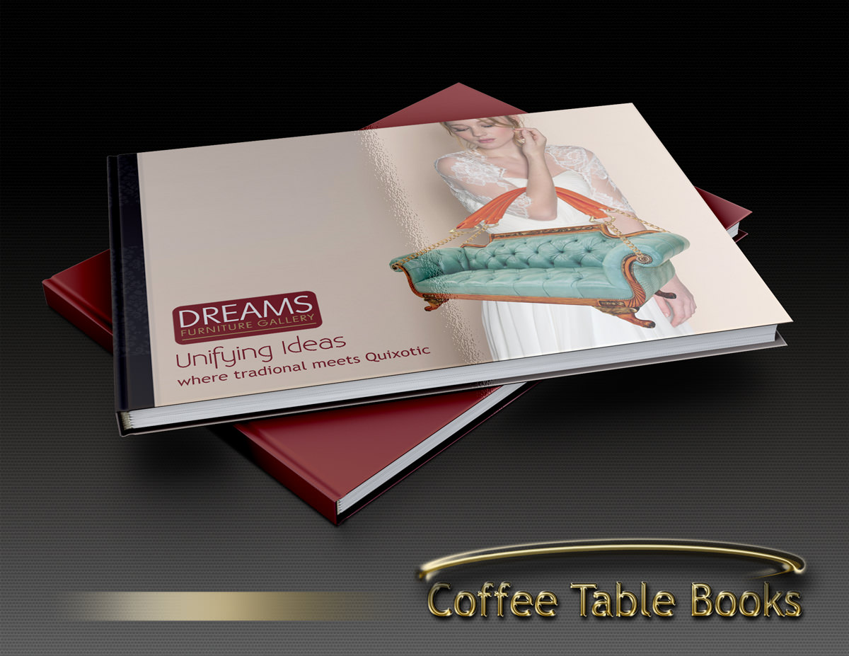Coffee table books cafe creationss for How to create a coffee table book